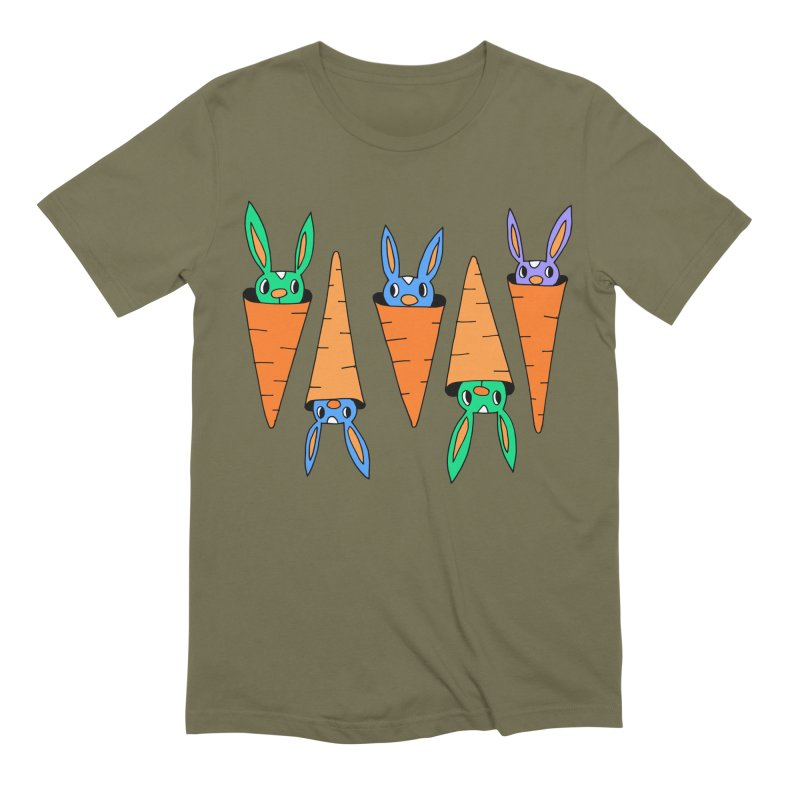 Carrot Friends Men's Extra Soft T-Shirt by Shelby Works