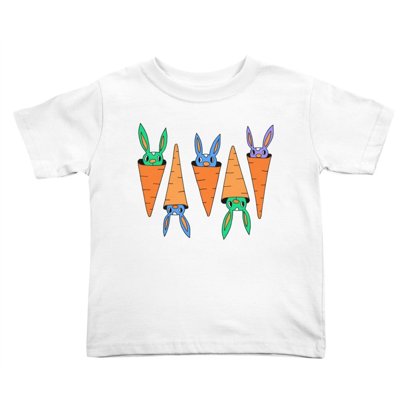 Carrot Friends Kids Toddler T-Shirt by Shelby Works