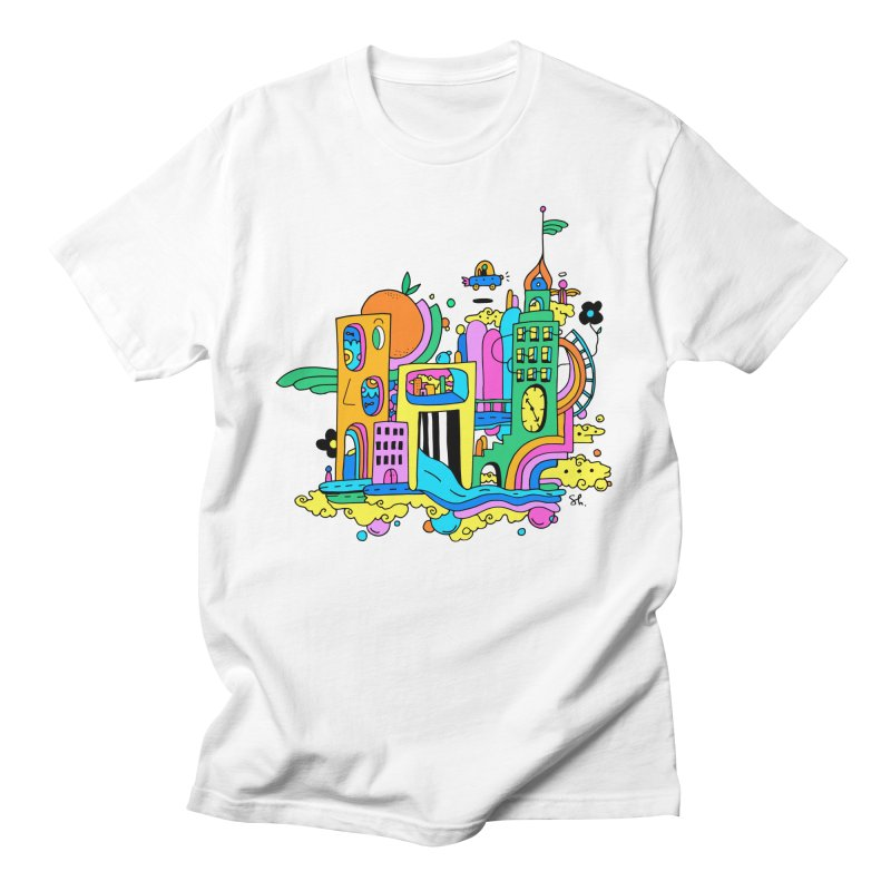 Pocket City Men's Regular T-Shirt by Shelby Works
