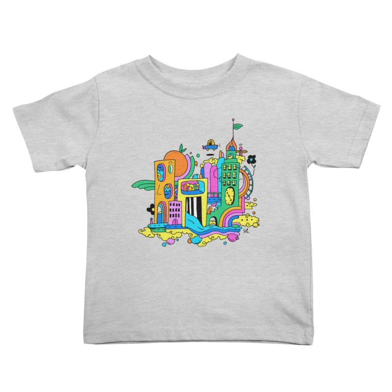Pocket City Kids Toddler T-Shirt by Shelby Works
