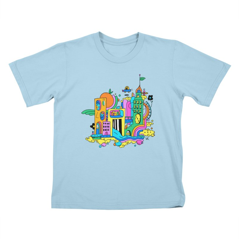 Pocket City Kids T-Shirt by Shelby Works