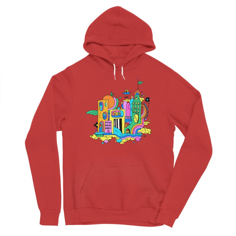 Pocket City Men's Pullover Hoody by Shelby Works