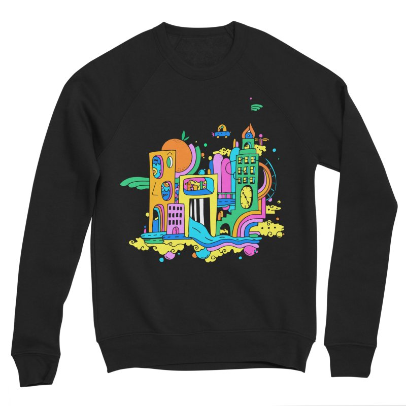 Pocket City Women's Sweatshirt by Shelby Works