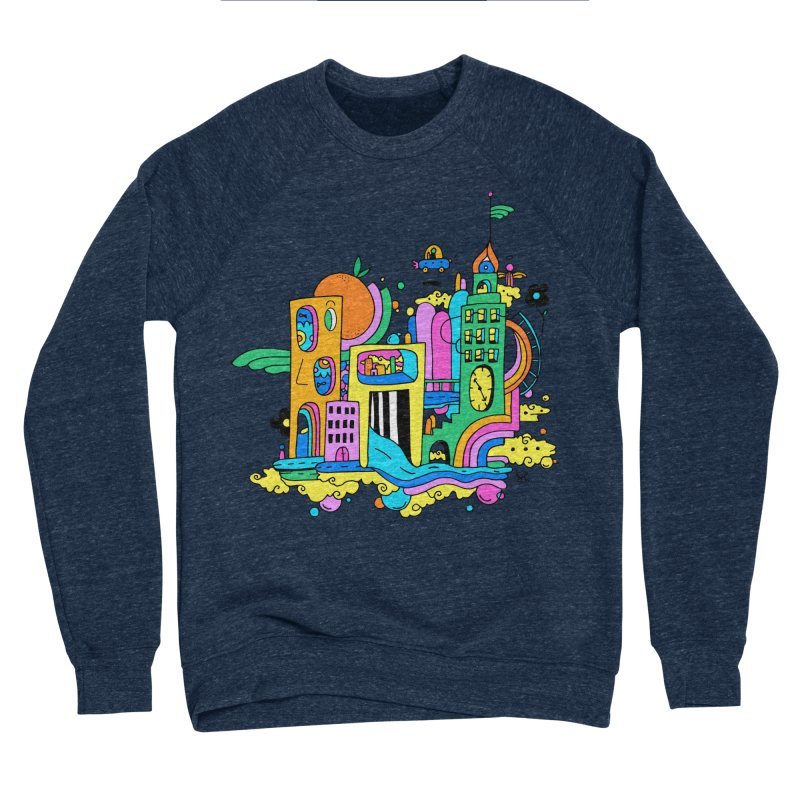 Pocket City Men's Sweatshirt by Shelby Works