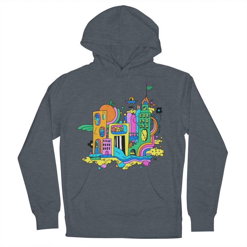Pocket City Women's French Terry Pullover Hoody by Shelby Works
