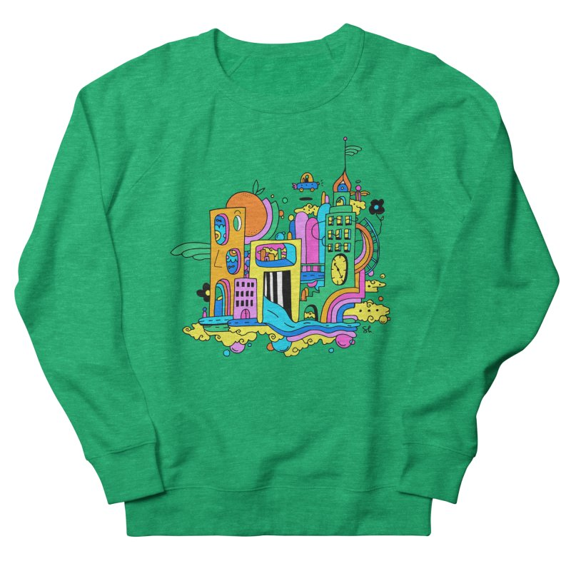 Pocket City Men's French Terry Sweatshirt by Shelby Works
