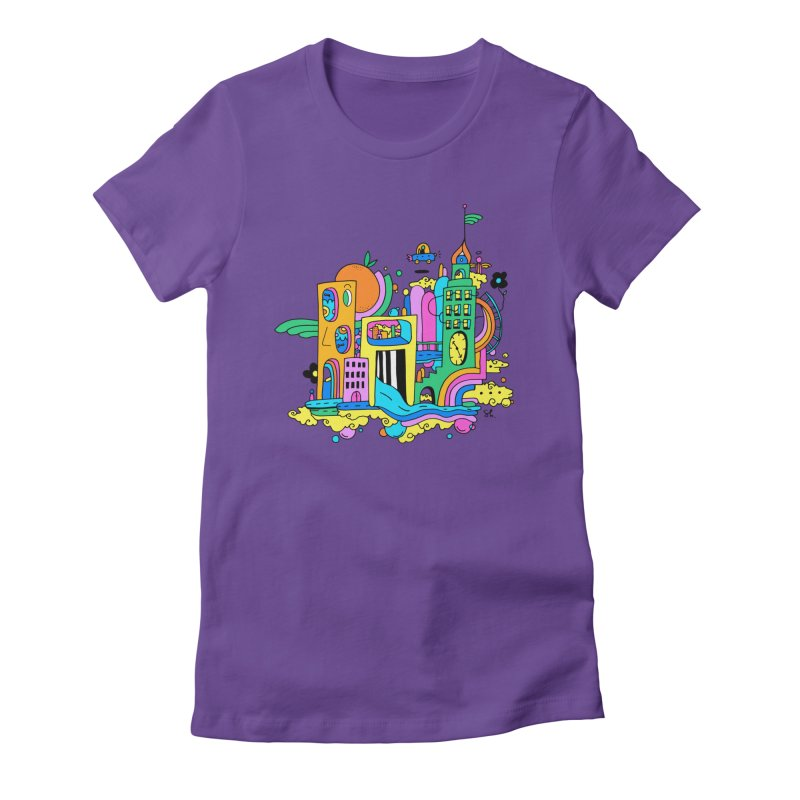 Pocket City Women's T-Shirt by Shelby Works