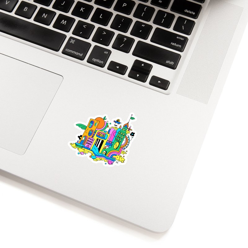 Pocket City Accessories Sticker by Shelby Works