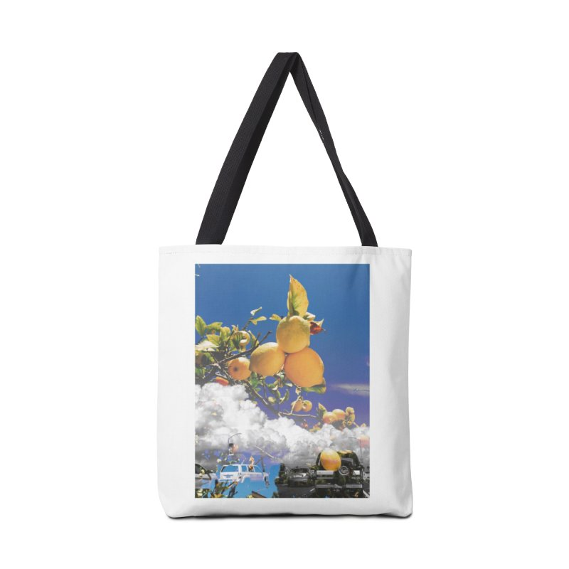 Lemon Dreams Accessories Tote Bag Bag by Shelby Works