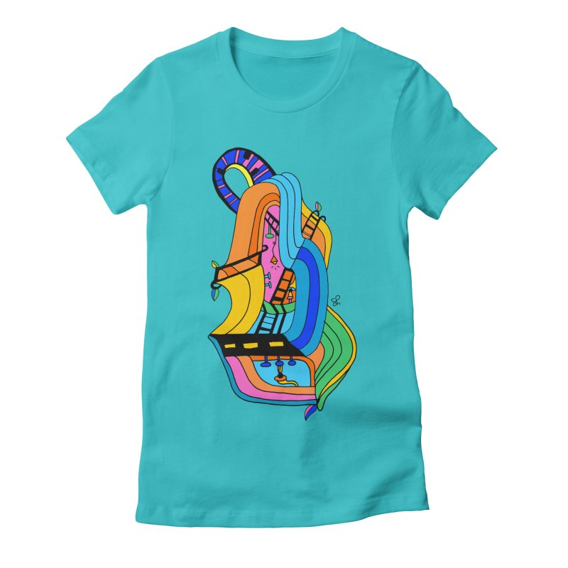 The Impossible Instrument Women's Fitted T-Shirt by Shelby Works