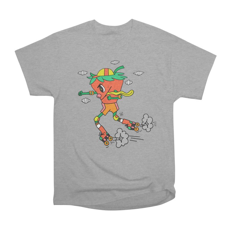 Edgy Strawberry Kid Men's Heavyweight T-Shirt by Shelby Works