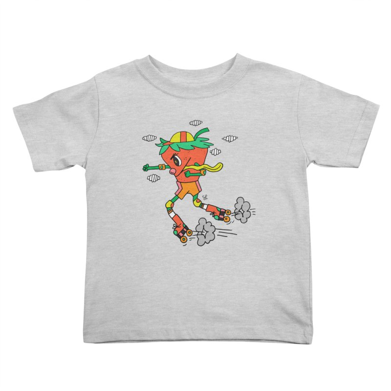 Edgy Strawberry Kid Kids Toddler T-Shirt by Shelby Works