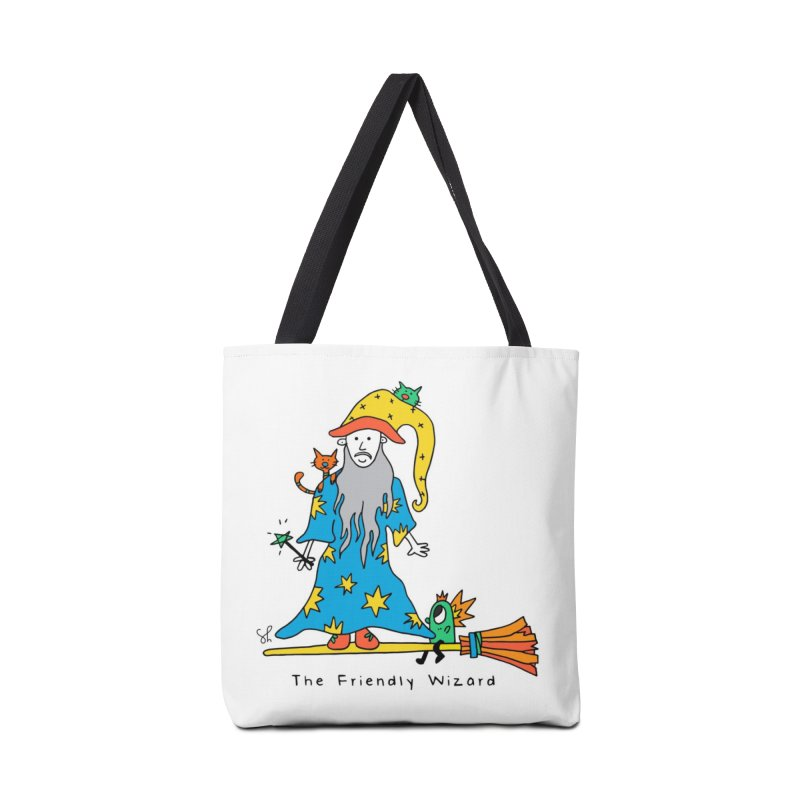 The Friendly Wizard Accessories Tote Bag Bag by Shelby Works