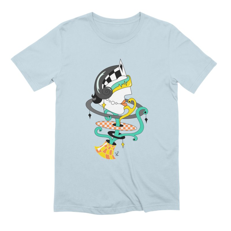 Sabrina the Teenage Robot Men's Extra Soft T-Shirt by Shelby Works