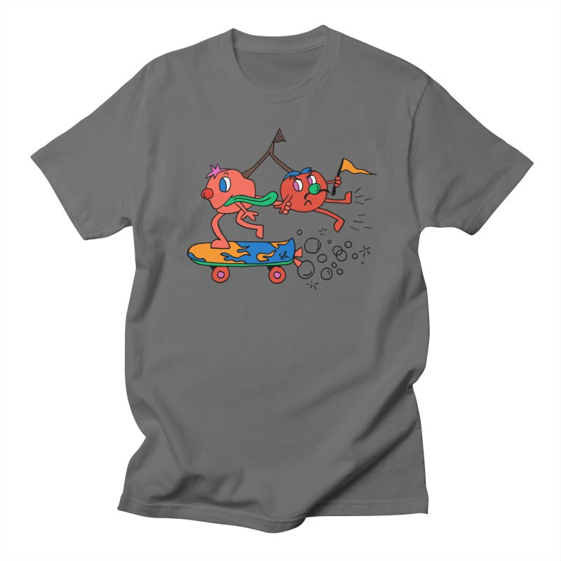 Cherries on the Run Men's T-Shirt by Shelby Works