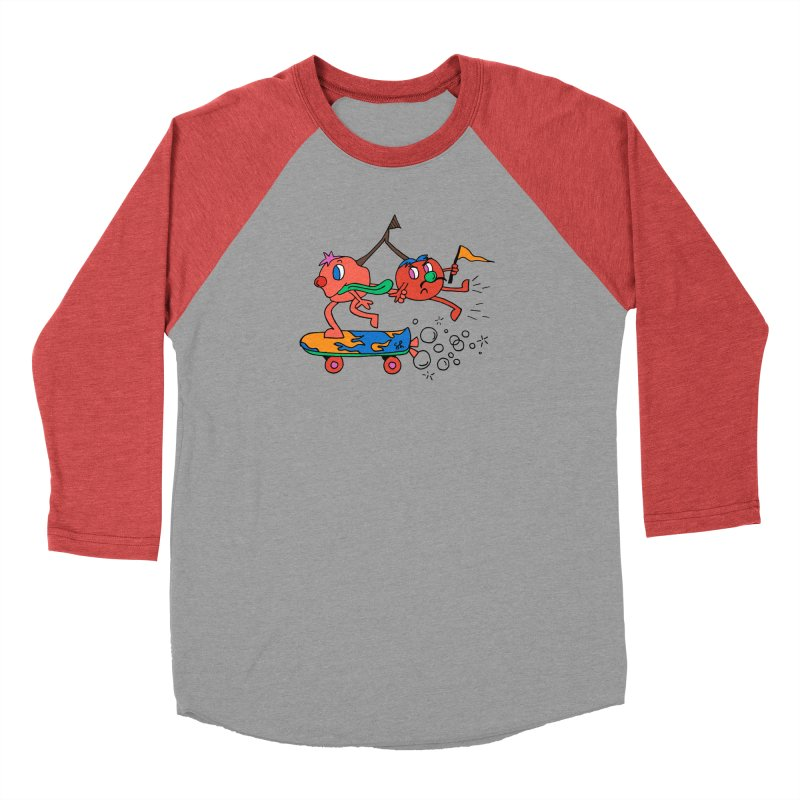 Cherries on the Run Men's Longsleeve T-Shirt by Shelby Works