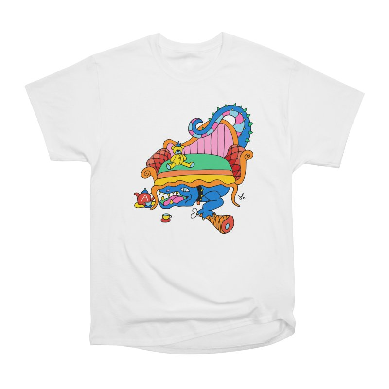 Don't Touch My Teddy Bear Men's Heavyweight T-Shirt by Shelby Works