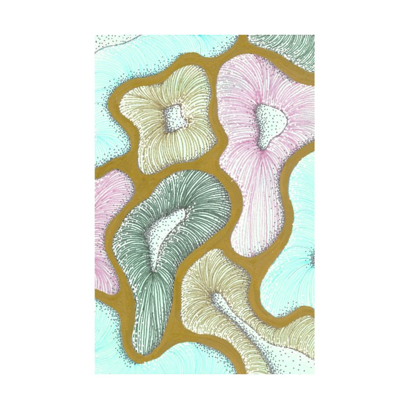 Sea Mushrooms by Shellah Bella's Artist Shop