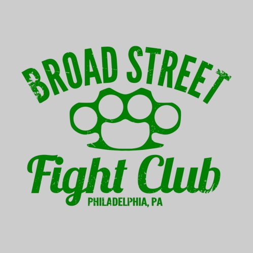 Design for Broad Street Fight Club