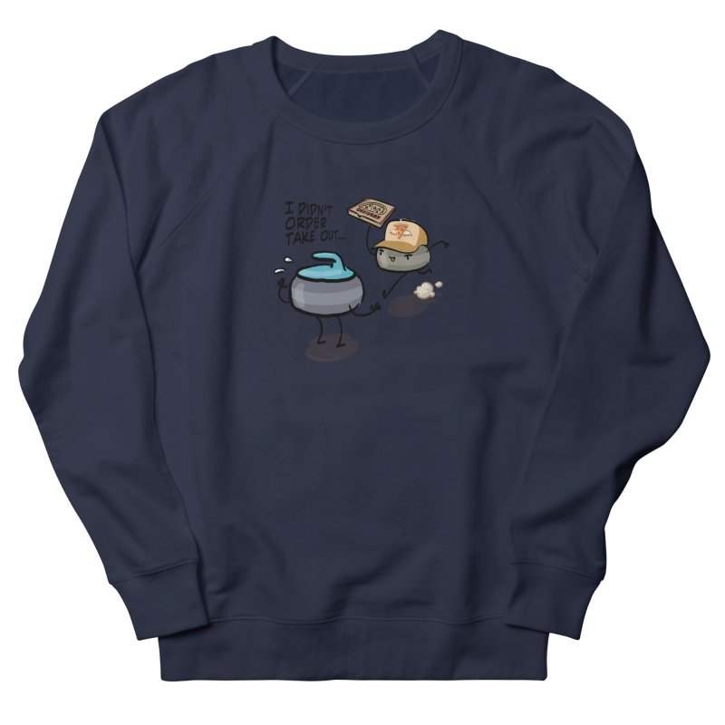 The Delivery Men's French Terry Sweatshirt by Friday the Shirteenth