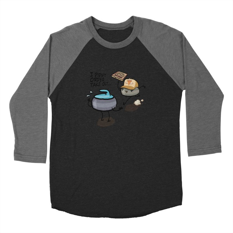 The Delivery Women's Baseball Triblend Longsleeve T-Shirt by Friday the Shirteenth