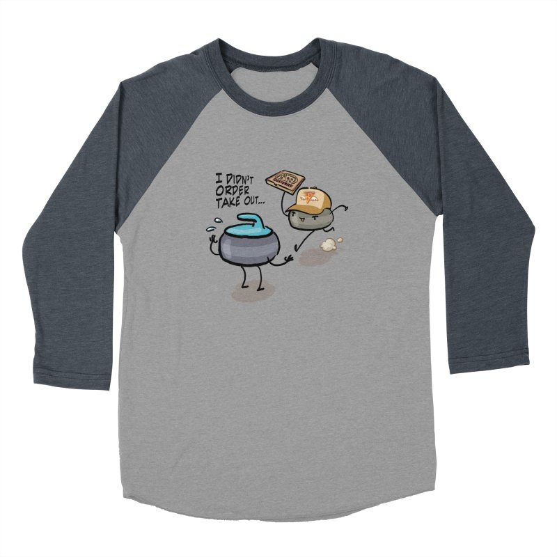 The Delivery Men's Baseball Triblend Longsleeve T-Shirt by Friday the Shirteenth