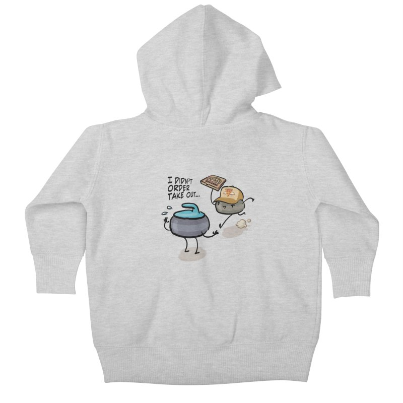 The Delivery Kids Baby Zip-Up Hoody by Friday the Shirteenth
