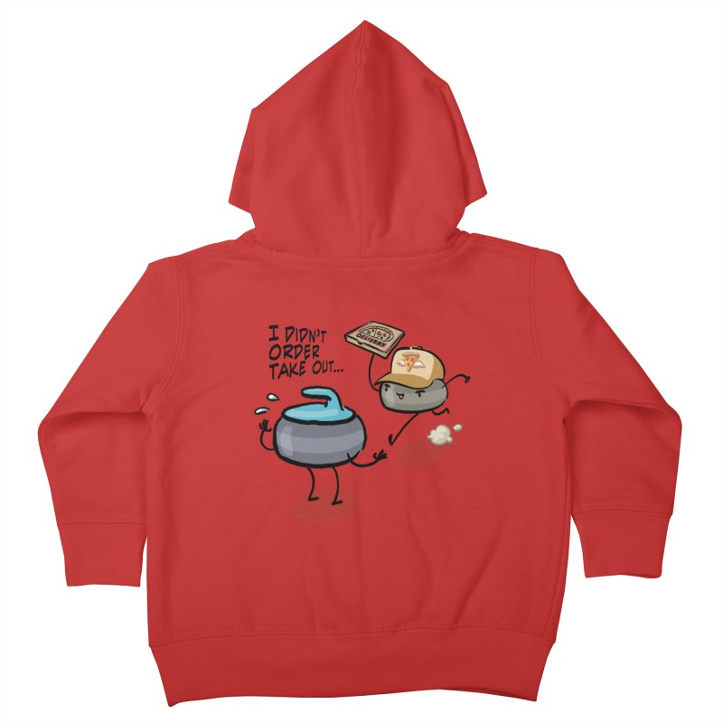 The Delivery Kids Toddler Zip-Up Hoody by Friday the Shirteenth