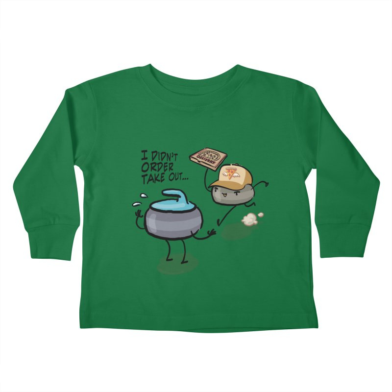 The Delivery Kids Toddler Longsleeve T-Shirt by Friday the Shirteenth