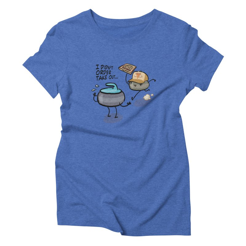 The Delivery Women's Triblend T-Shirt by Friday the Shirteenth