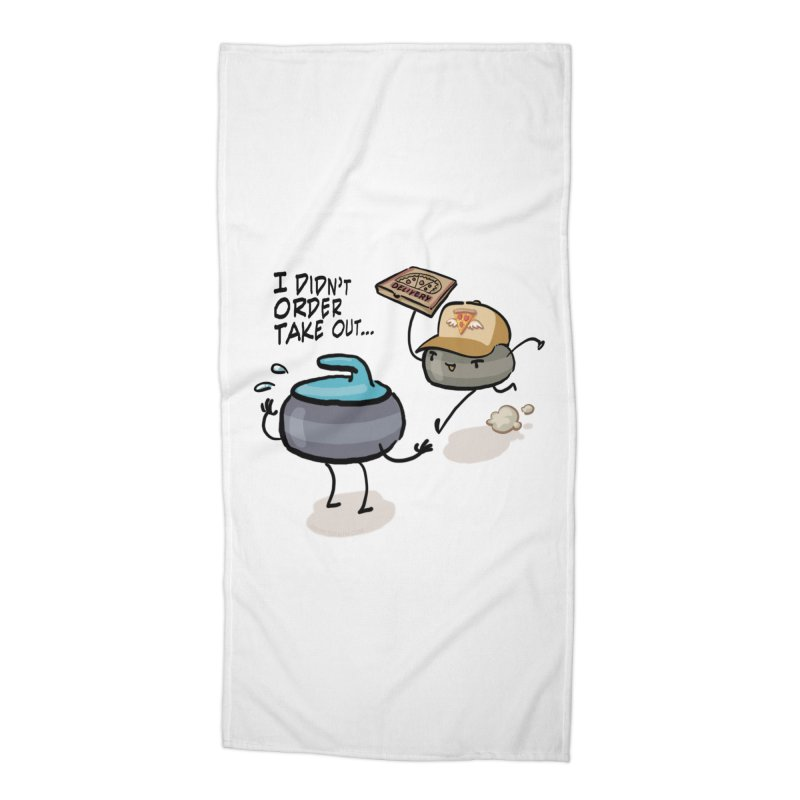 The Delivery Accessories Beach Towel by Friday the Shirteenth