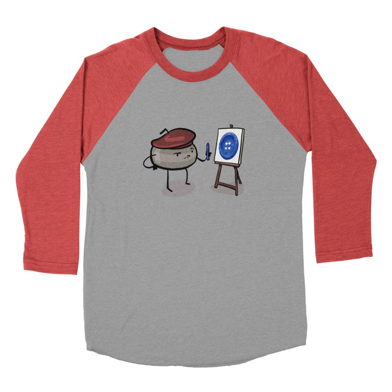 The Draw  Men's Baseball Triblend Longsleeve T-Shirt by Friday the Shirteenth
