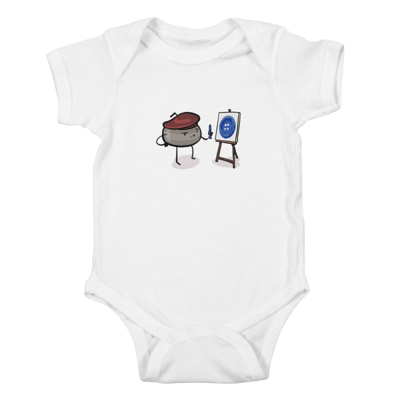 The Draw  Kids Baby Bodysuit by Friday the Shirteenth