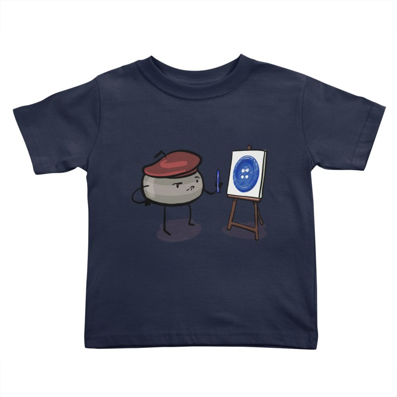 The Draw  Kids Toddler T-Shirt by Friday the Shirteenth