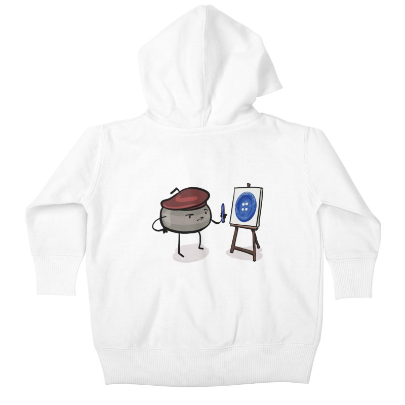 The Draw  Kids Baby Zip-Up Hoody by Friday the Shirteenth