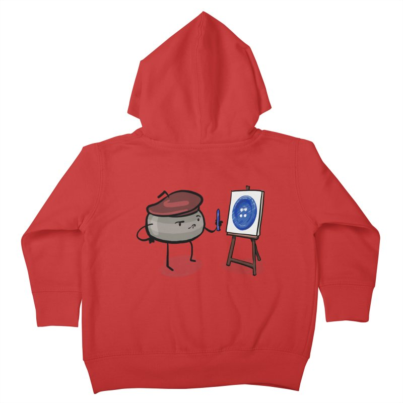 The Draw  Kids Toddler Zip-Up Hoody by Friday the Shirteenth
