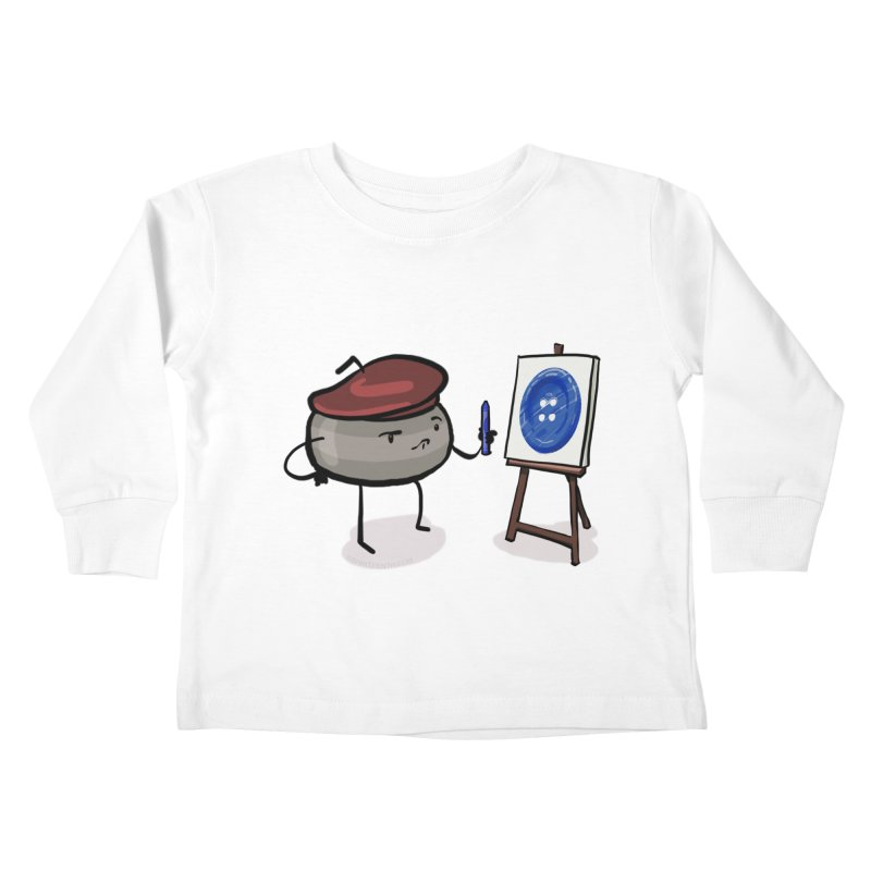 The Draw  Kids Toddler Longsleeve T-Shirt by Friday the Shirteenth