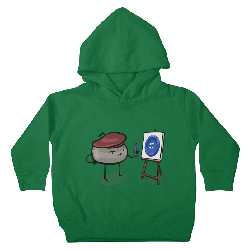 The Draw  Kids Toddler Pullover Hoody by Friday the Shirteenth