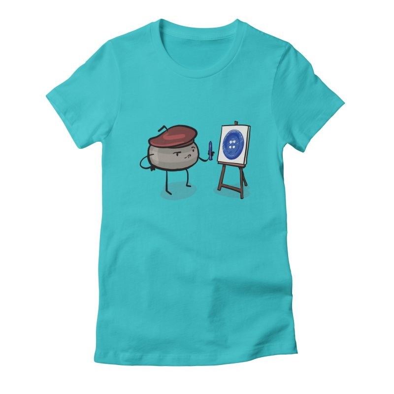 The Draw  Women's Fitted T-Shirt by Friday the Shirteenth