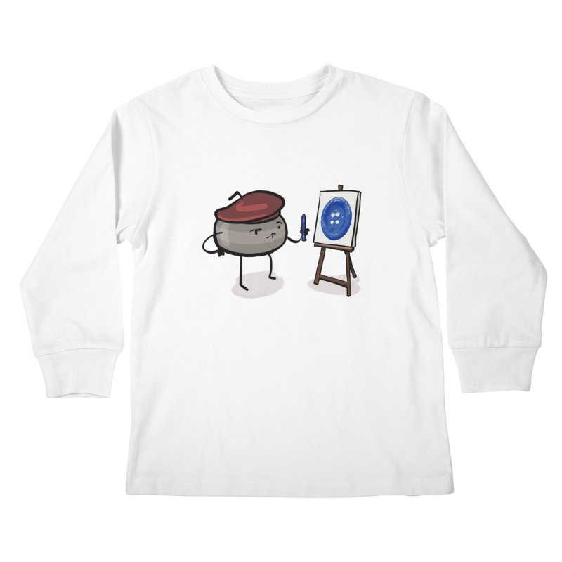 The Draw  Kids Longsleeve T-Shirt by Friday the Shirteenth
