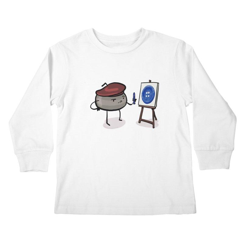 The Draw  Kids Longsleeve T-Shirt by Friday the Shirteenth