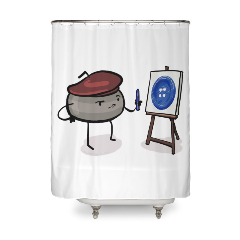 The Draw  Home Shower Curtain by Friday the Shirteenth