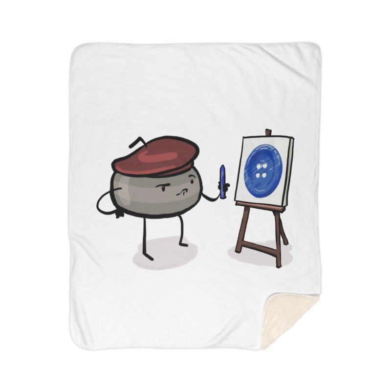The Draw  Home Sherpa Blanket Blanket by Friday the Shirteenth