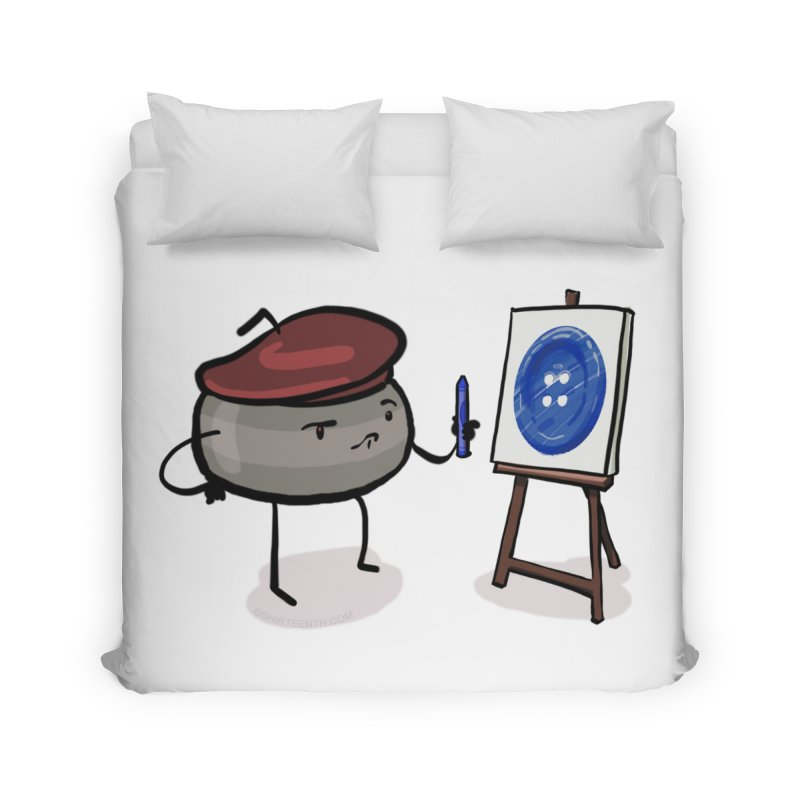 The Draw  Home Duvet by Friday the Shirteenth