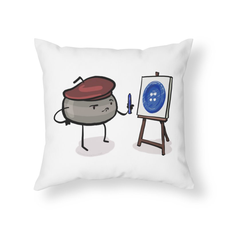 The Draw  Home Throw Pillow by Friday the Shirteenth