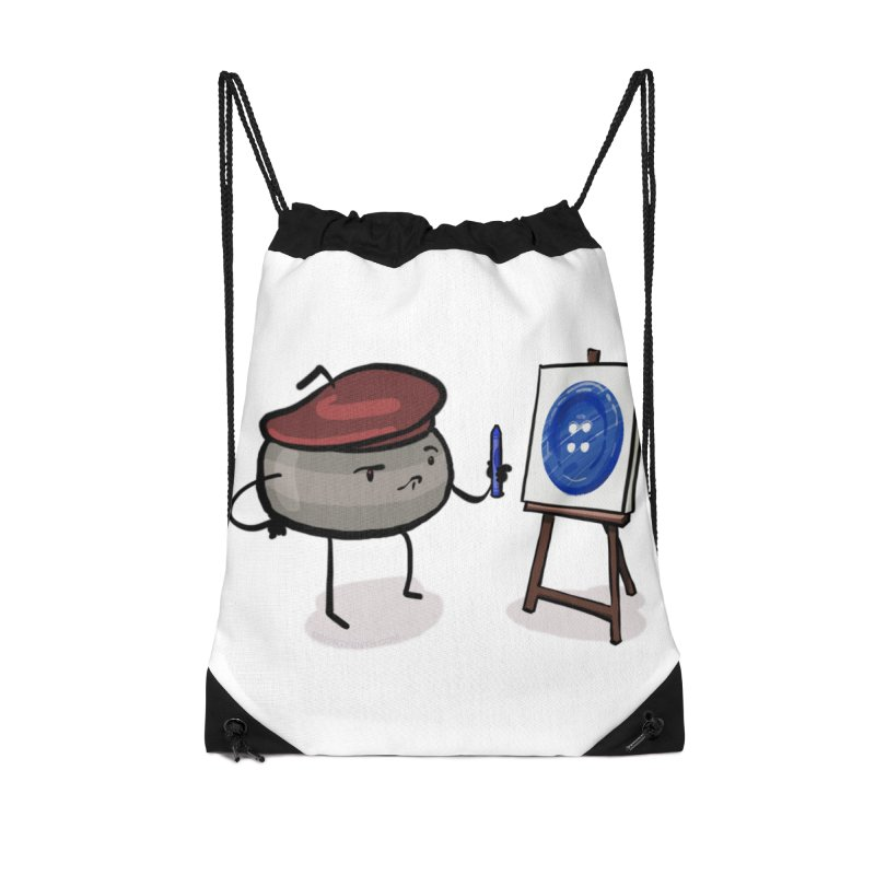 The Draw  Accessories Drawstring Bag Bag by Friday the Shirteenth