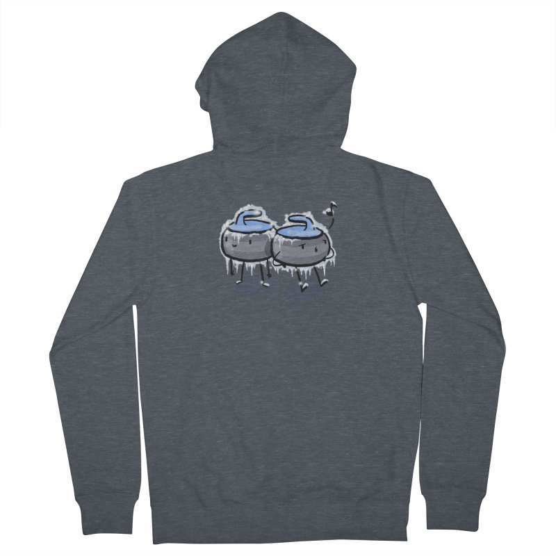 The Freeze Men's French Terry Zip-Up Hoody by Friday the Shirteenth