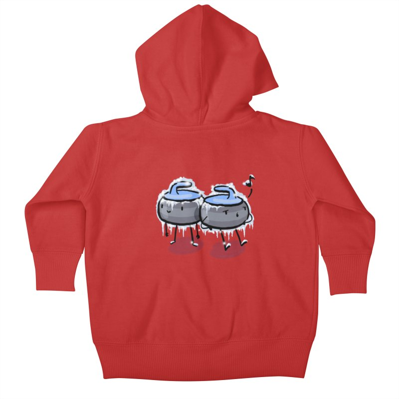 The Freeze Kids Baby Zip-Up Hoody by Friday the Shirteenth