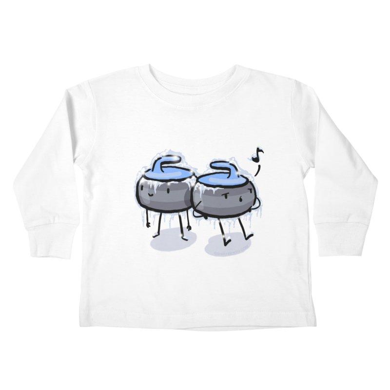The Freeze Kids Toddler Longsleeve T-Shirt by Friday the Shirteenth