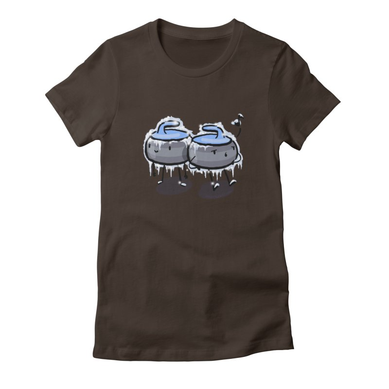 The Freeze Women's Fitted T-Shirt by Friday the Shirteenth